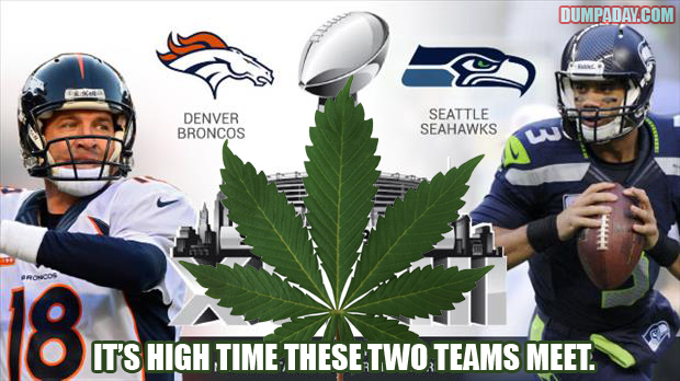 denver and seattle in superbowl funny pictures