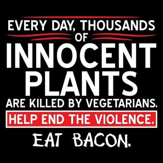 eat bacon