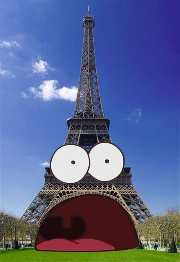 eiffell tower funny