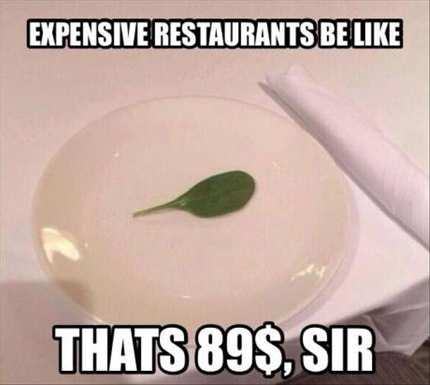 expensive restraunts