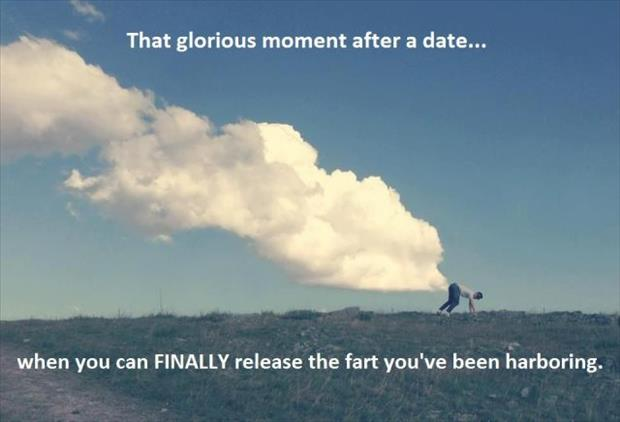 farting after a date