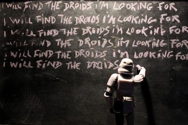 find the droids I'm looking for