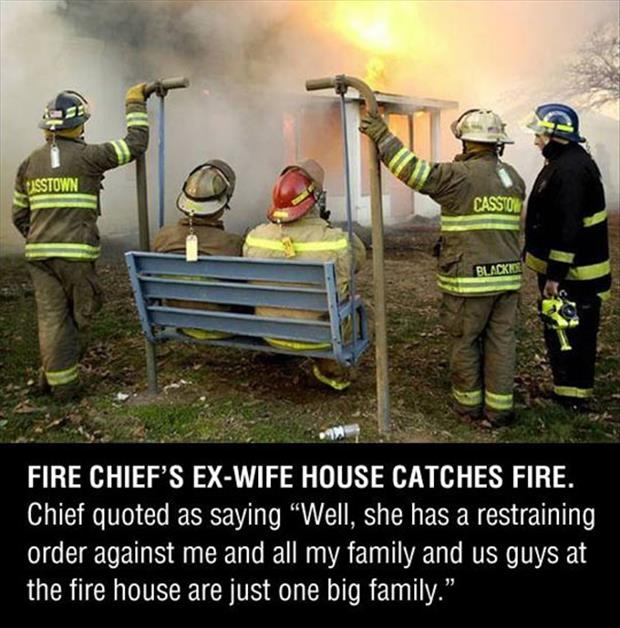 fire chief's ex wife