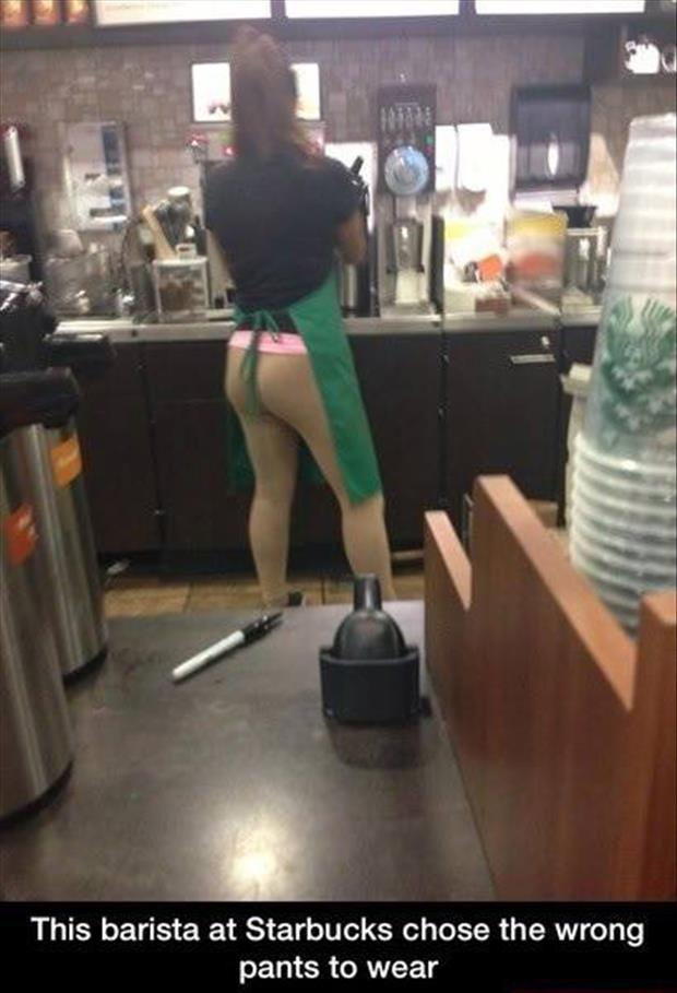 funny coffee lady