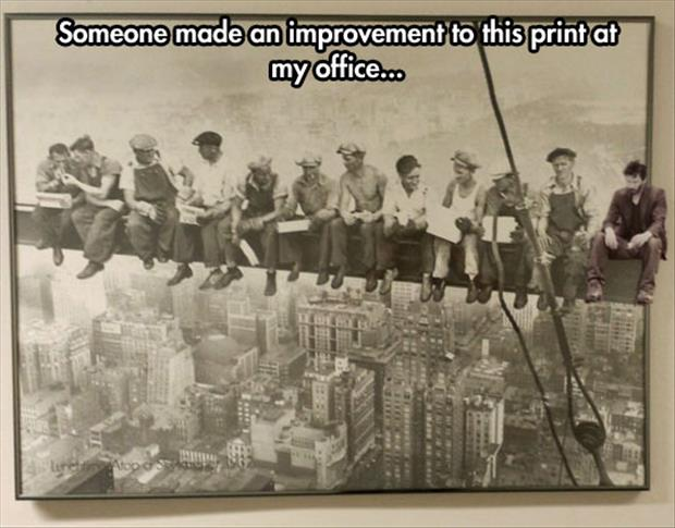 funny office fixes
