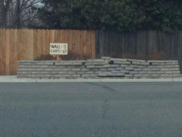 funny rock wall signs