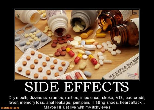 funny side effects