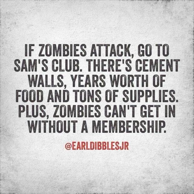 funny zombie attacks
