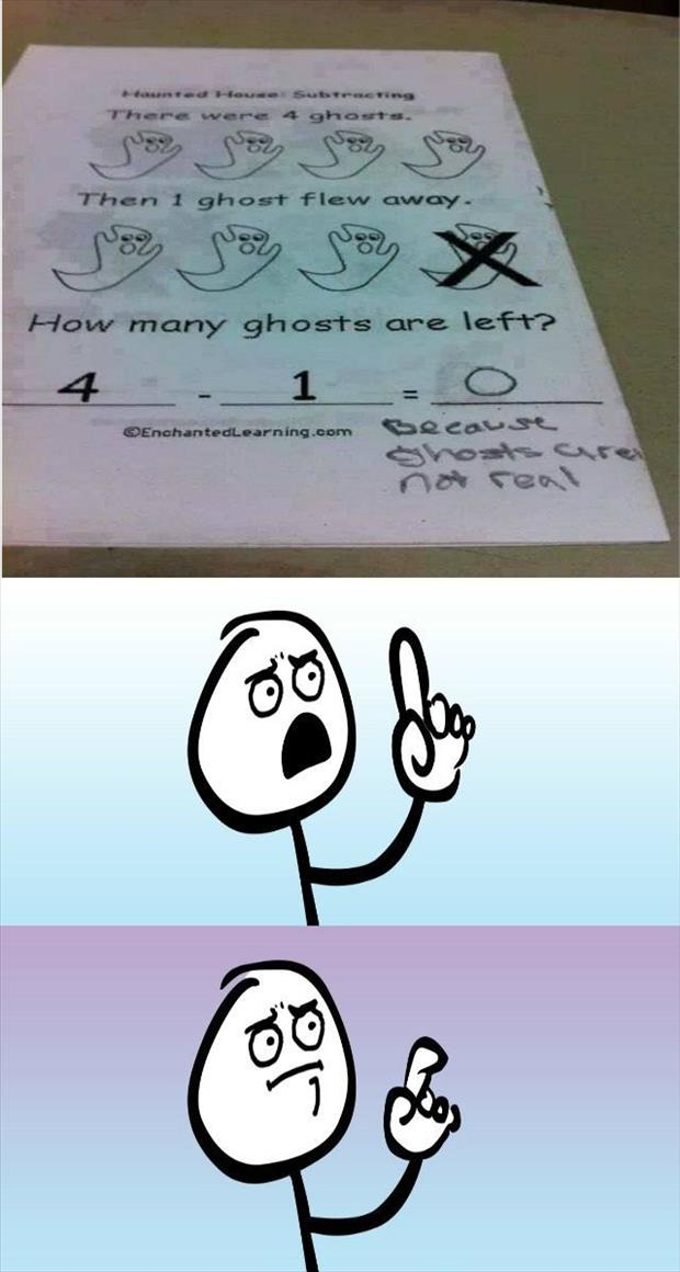 ghosts are not real