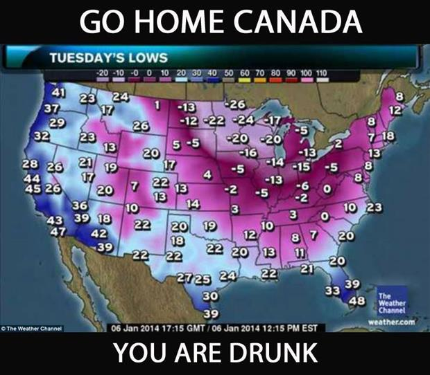 go home canada you're drunk