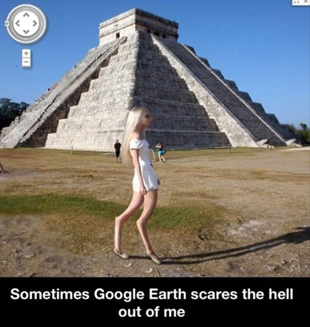 google earth is scary
