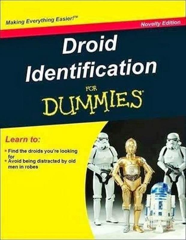 how to find the droids