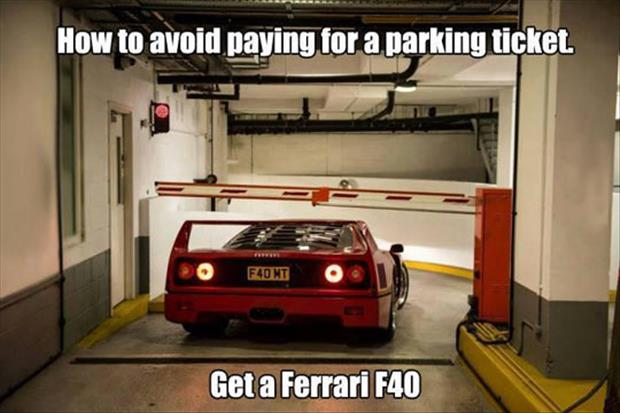 how to get free parking