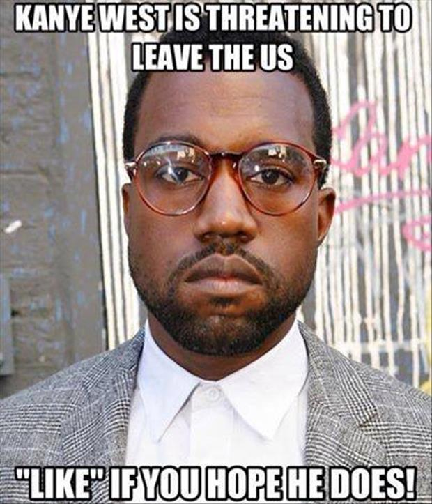 kanye west is leaving the united states
