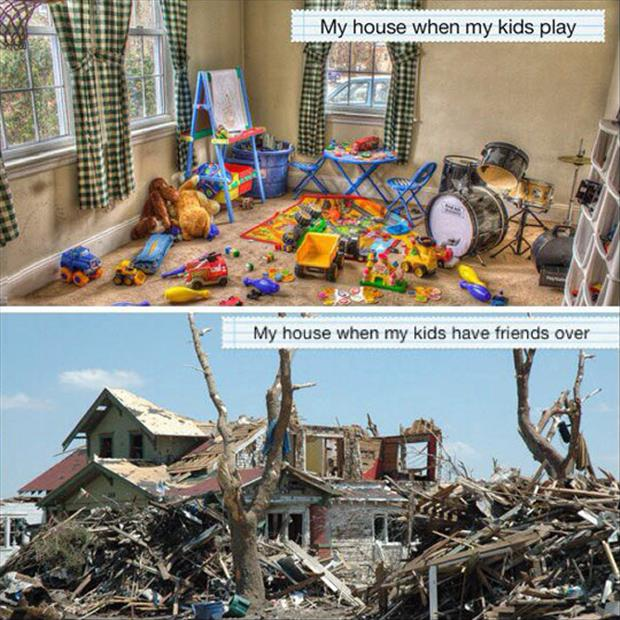kids playing at your house