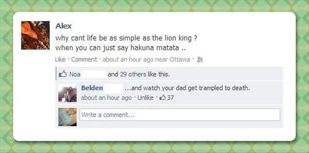 life is like the lion king