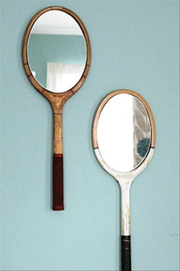 mirror tennis rackets