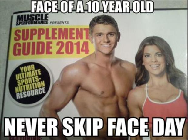 never skip face day