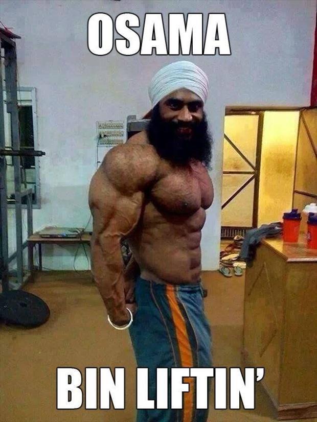 osama body builder