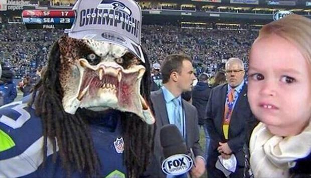 richard sherman interview funny pictures