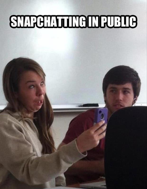 snapchatting funny pictures