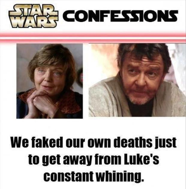 star wars confessions