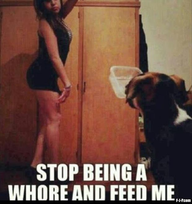 stop being a whore