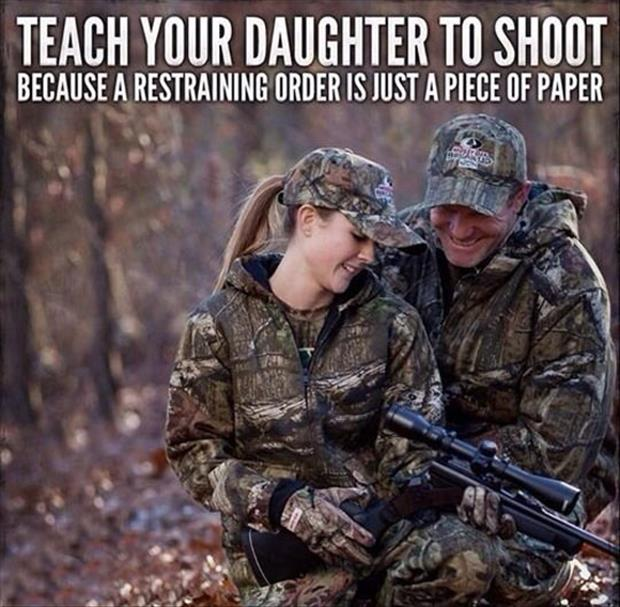 teach girls to shoot