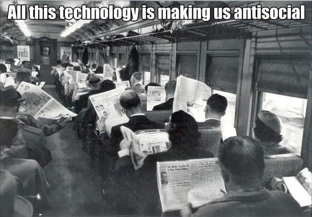 technology is making us anti social