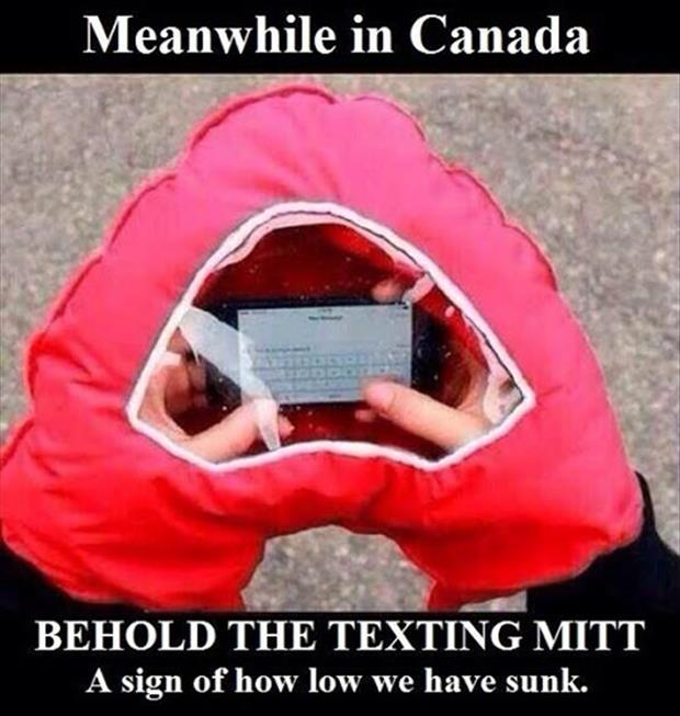 texting mittens