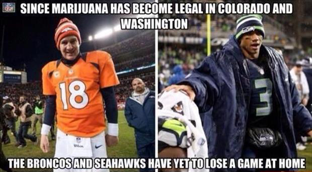 the broncos and seahawks funny pictures