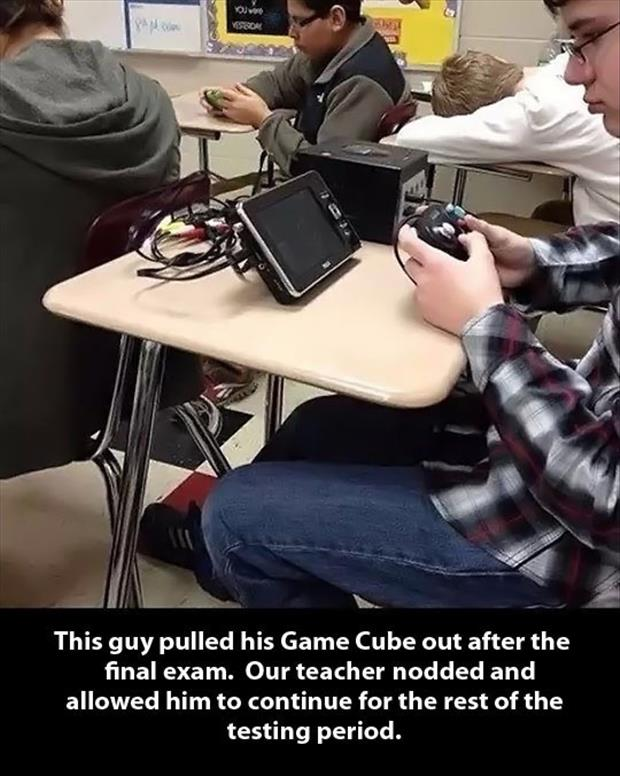 the funny game cube