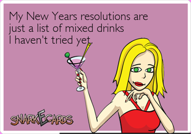 the new years resolution