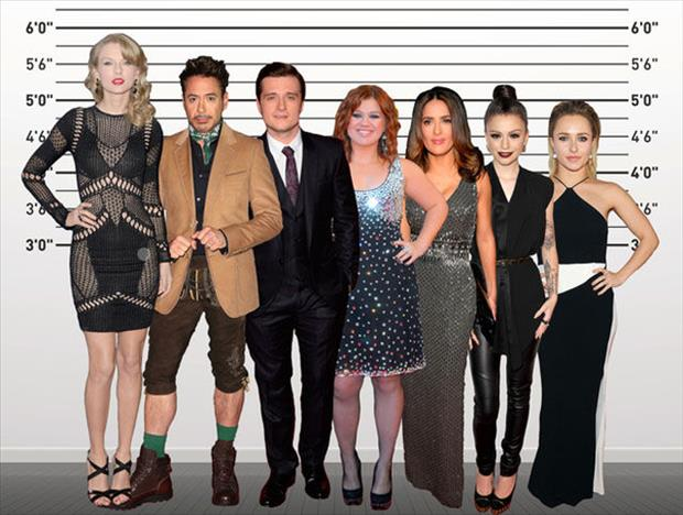 the short celebrities