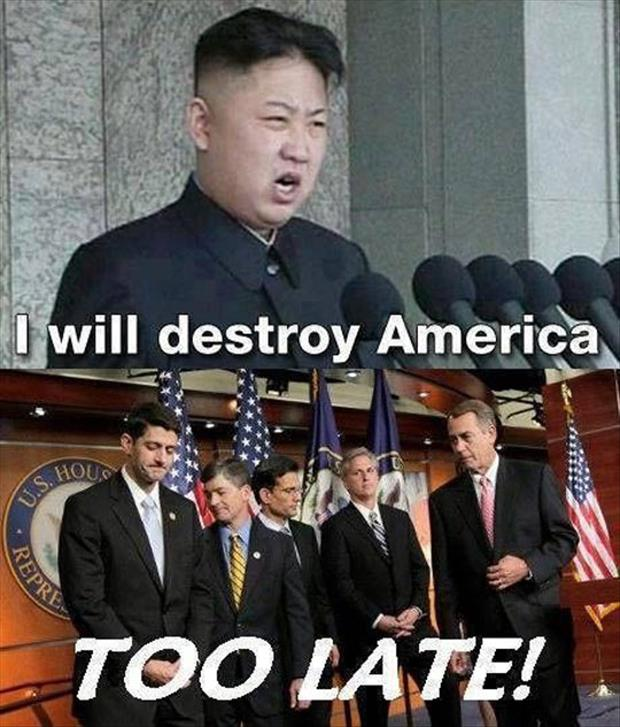 to late to destroy america