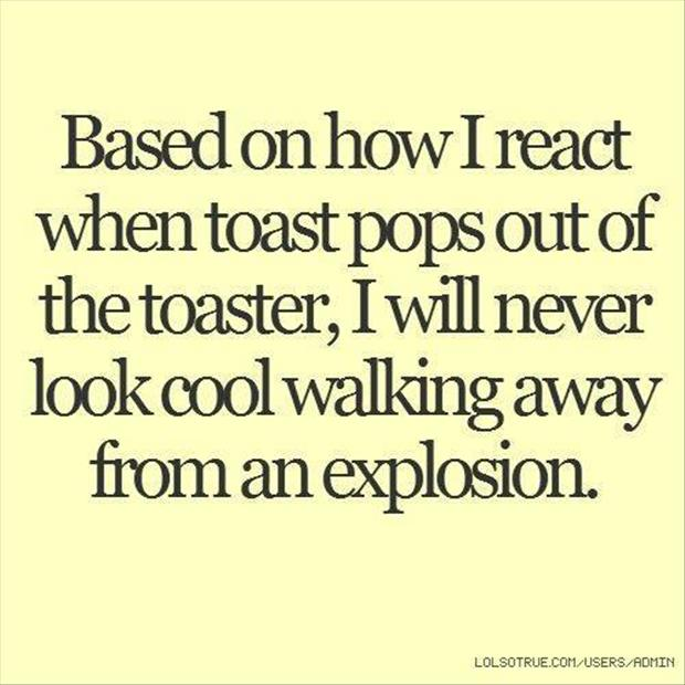 toast coming out of the toaster