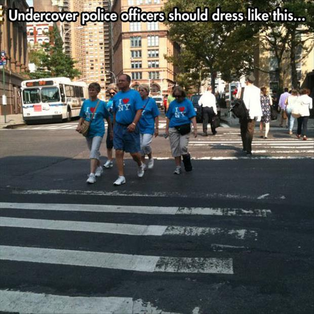 undercover police officers