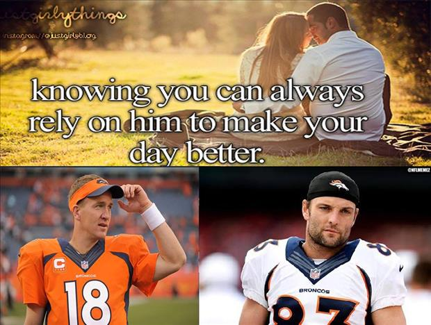 wes welker and payton manning