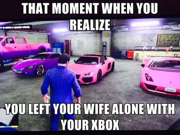 wife on your xbox