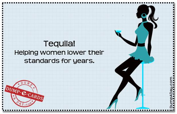 yf Dump E-card - v-day Tequila