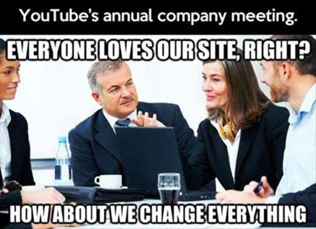 youtube company meetings