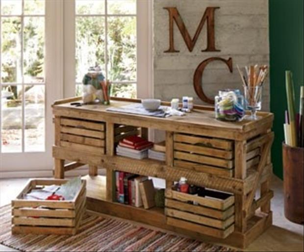 Amazing Crafty Crate Ideas 19