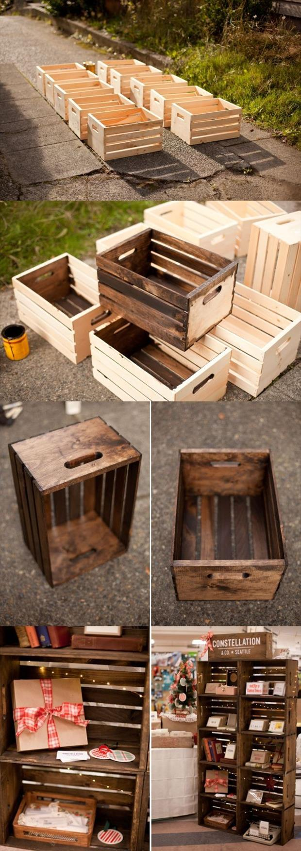 Amazing Crafty Crate Ideas 2