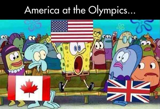 Americans at the olympics