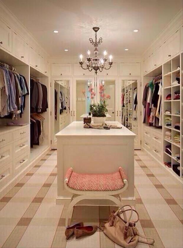 Meanwhile At My Pinterest Home- closet