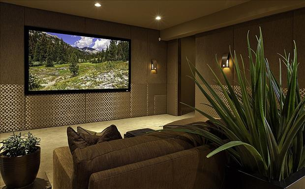 Meanwhile in My Pinterest Home Theater Room 1