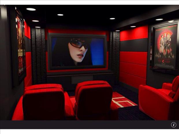 Meanwhile in My Pinterest Home Theater Room 11