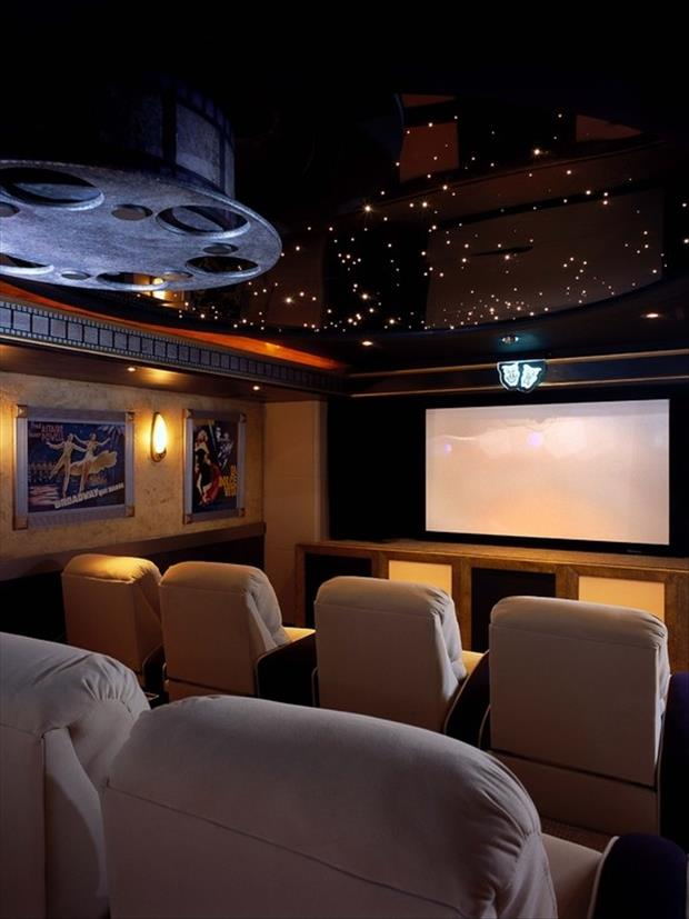 Meanwhile in My Pinterest Home Theater Room 14