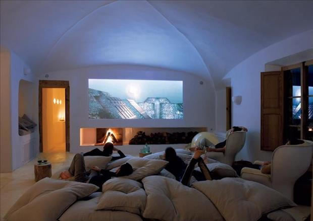 Meanwhile in My Pinterest Home Theater Room 16