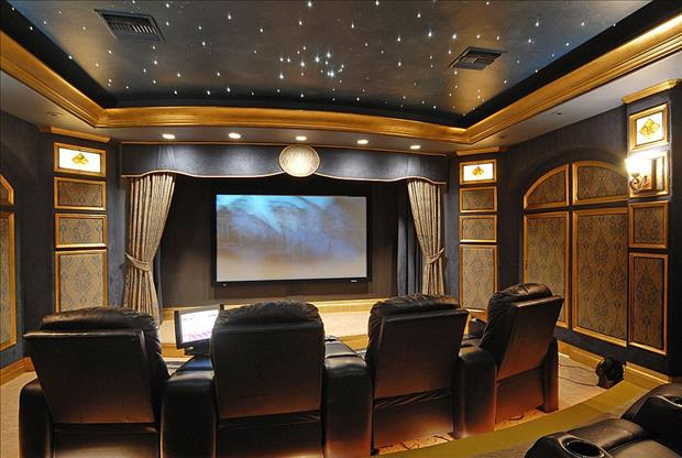 Meanwhile in My Pinterest Home Theater Room 20